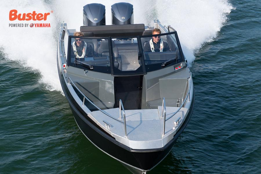 Buster Powered by Yamaha Outboards
