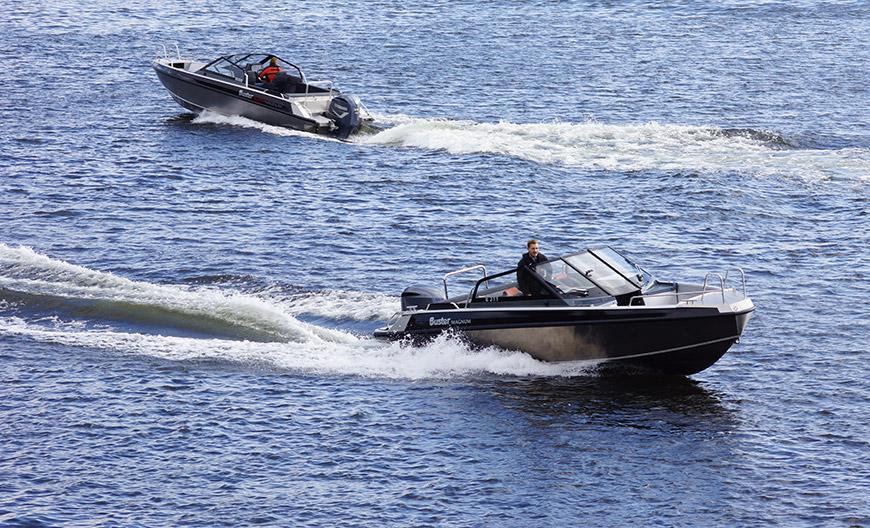 Aluminium Motorboot Buster Magnum