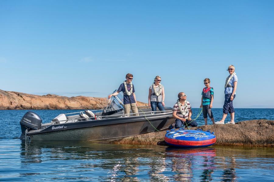 Tarjous vene-moottoripaketti Buster Lx ja Yamaha F60 -perämoottori