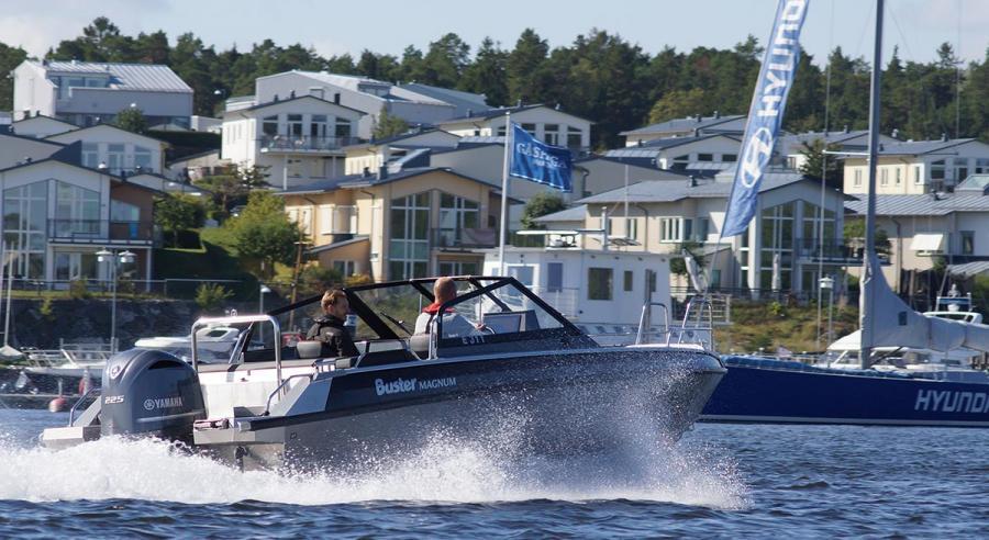 Helsingin Uiva venenäyttely 2018 koeajovene