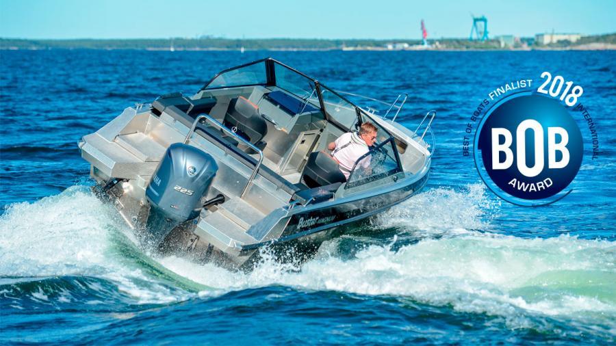 Uusi Buster Magnum -alumiinivene Best of Boats -kilpailun finaaliin