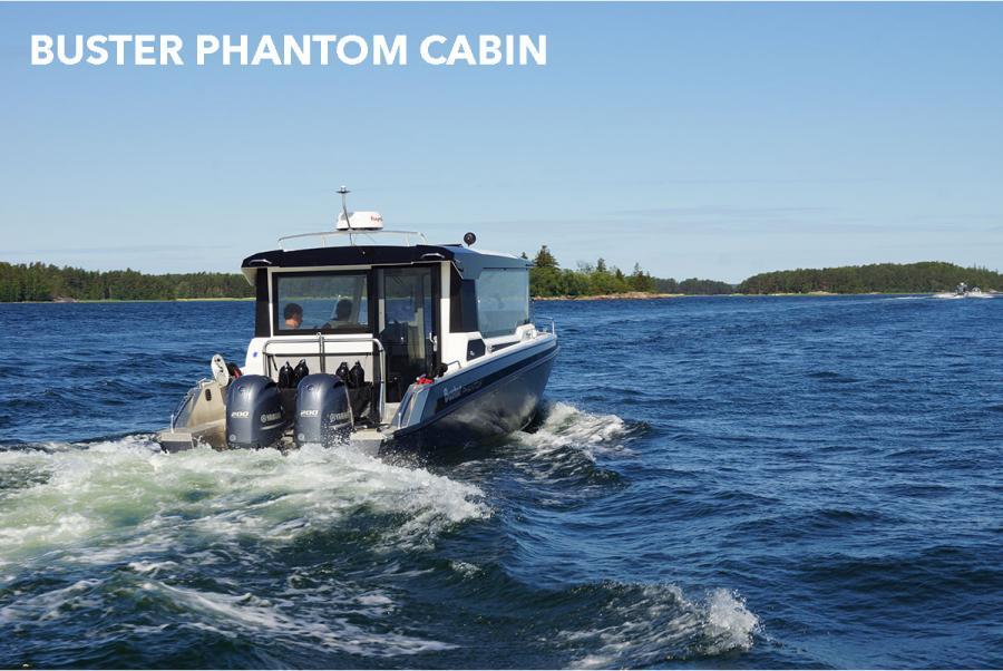 Båtmesse Oslo Buster Phantom Cabin