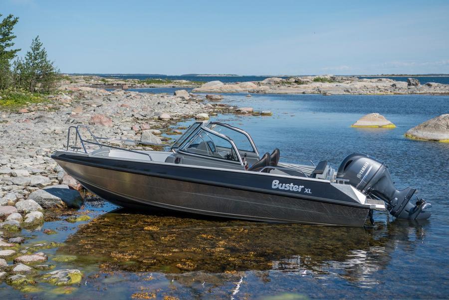 tarjous alumiinivene Buster X ja Yamaha-perämoottori