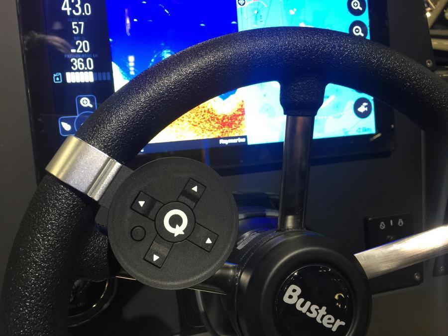 Buster kjørecomputer og infotainmentsystem med nye egenskaper