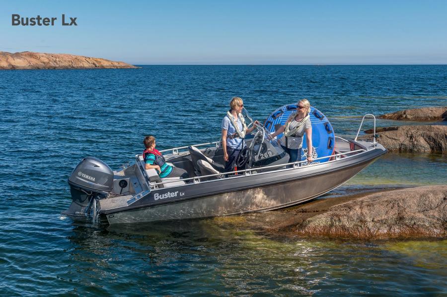 Kampanjpris i Finland Buster Lx med Yamaha F60