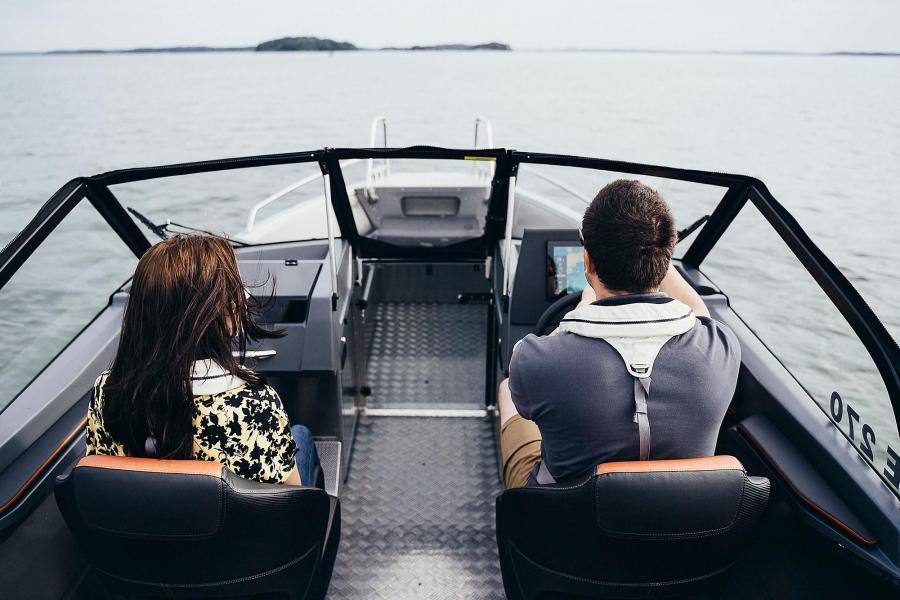 Buster XXL 2020 aluminum båt sportiga nyhet