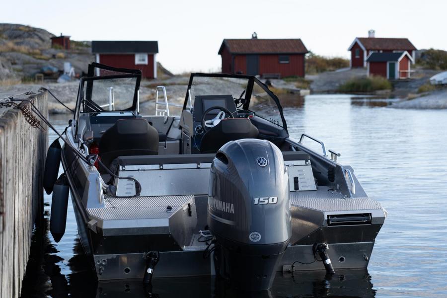 Nya Buster XXL aluminiumsbåt i Båtmässan Göteborg 2020