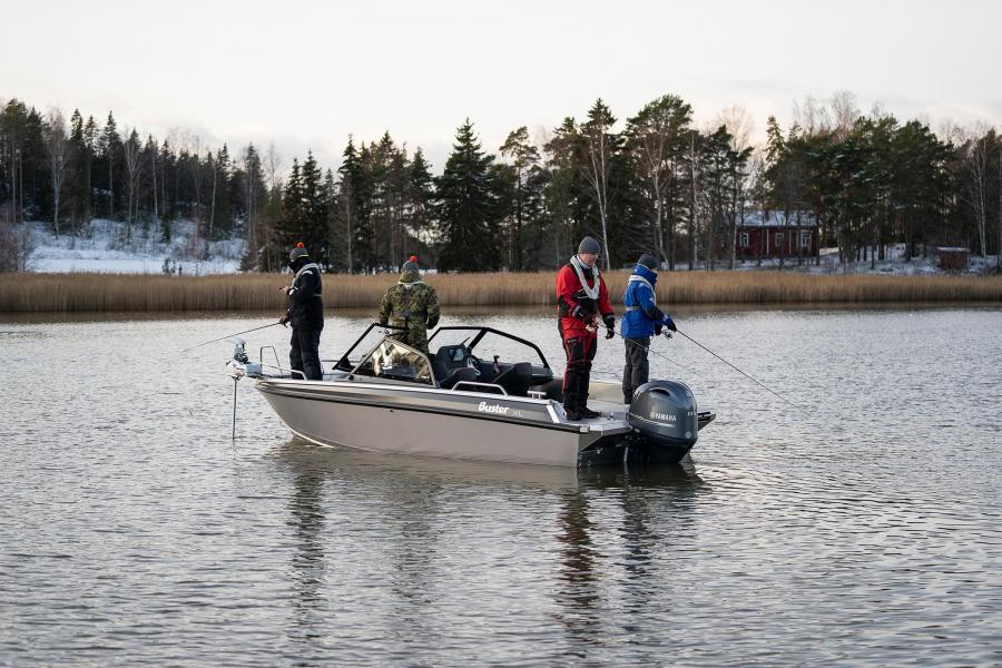 Heittokalastusveneen valinta ja varustelu