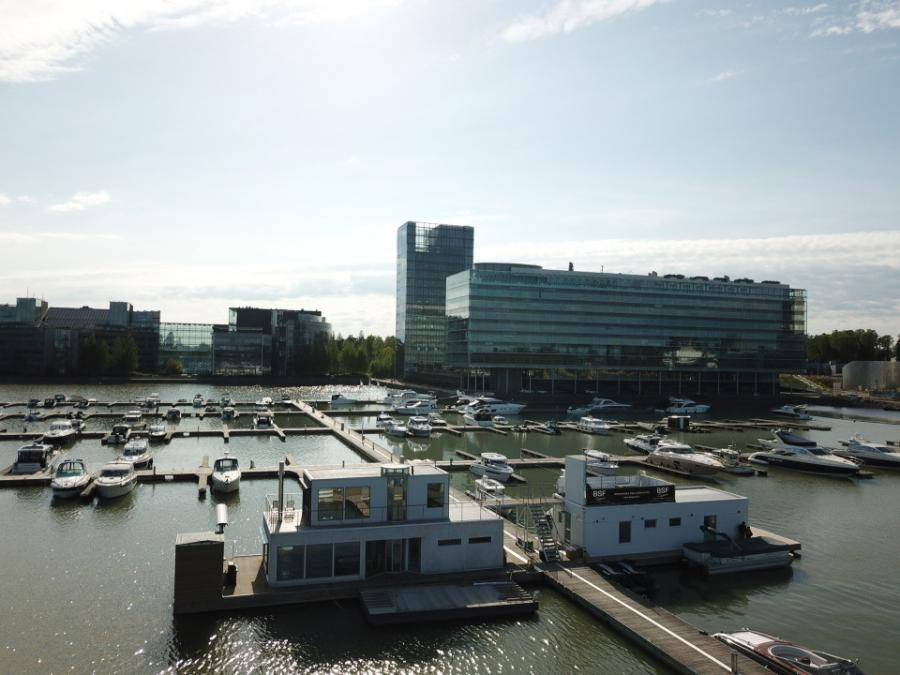 Veneiden koeajokeskus Espoon Keilalahdessa