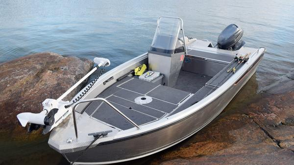 small fishing boat aluminium Buster M