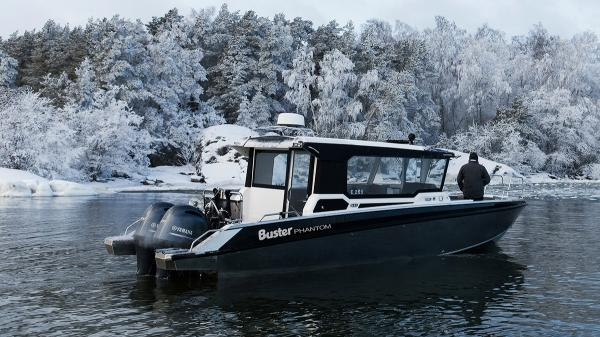 Phantom Cabin luxury aluminium cabin commuter boat