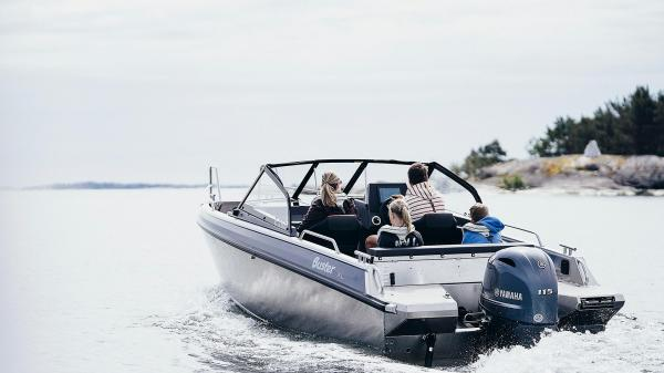 Buster XL 2020 aluminium powerboat