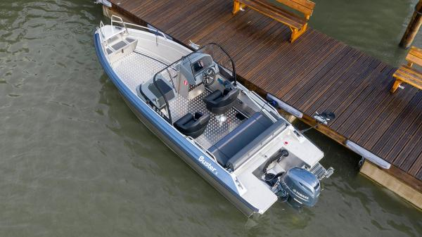 New Buster X aluminium boat model year 2021