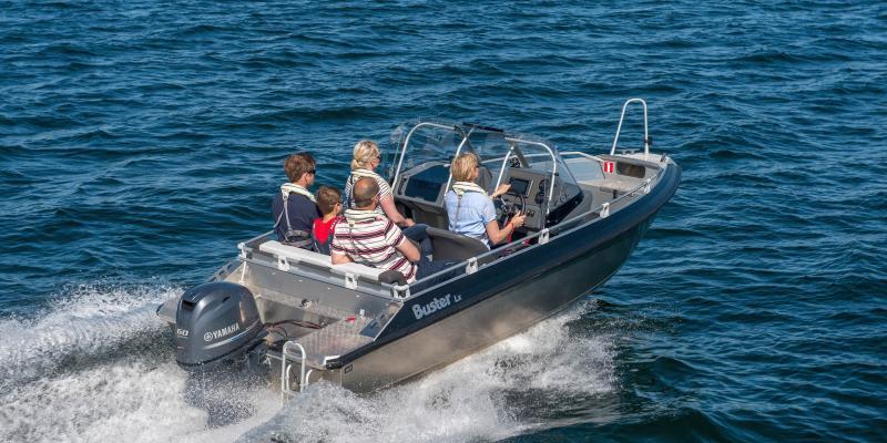 Buster Lx aluminium boat