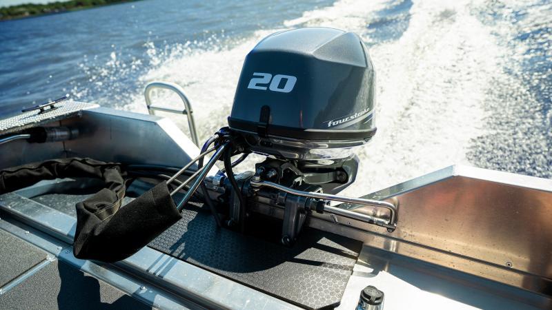 Yamaha F20 perämoottori Buster XSr