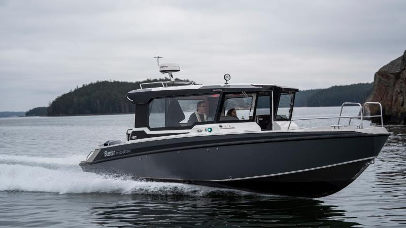 Buster Phantom Cabin has all year-round hull