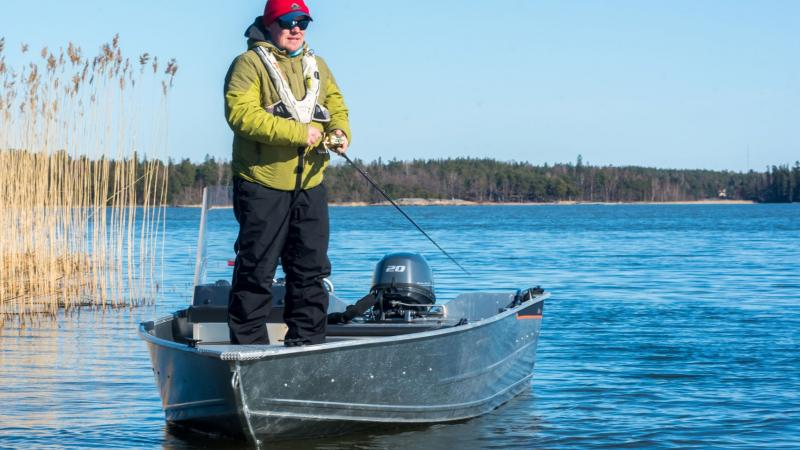 Buster XSr is suitable for fishing