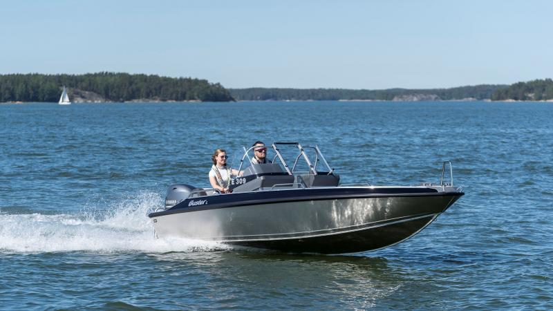 Buster L2 is a versatile boat