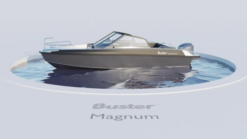 Buster Magnum 360 view