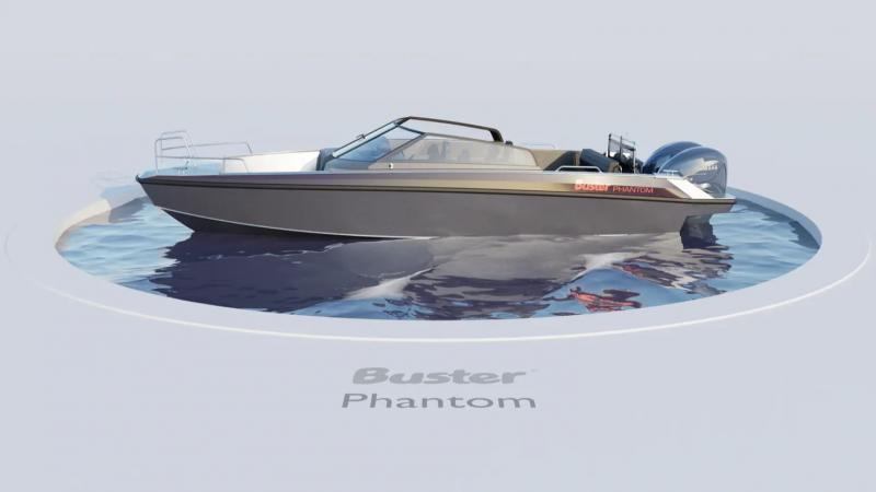 Buster Phantom 360 view