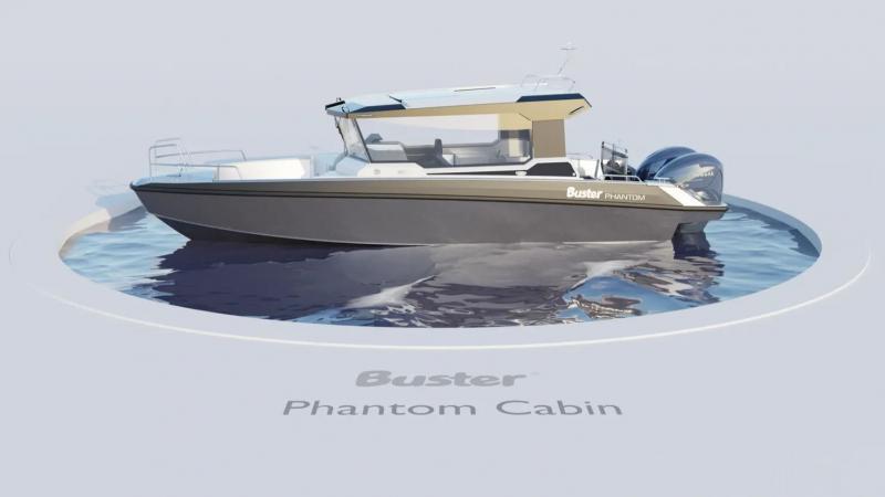 Buster Phantom Cabin 360 view