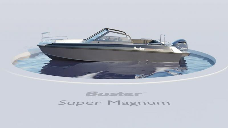 Buster SuperMagnum 360 view