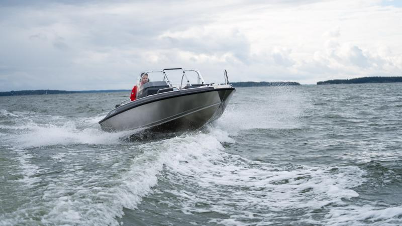 Buster Lx aluminum boat